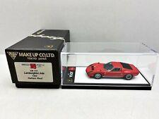 1:43..Make Up Eidolon--EM170 Lamborghini Jota 1969 Italian Red ! RARE  / PO 377