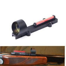 Tactical Circle Red Dot Fiber Sight 1X28 Collimeter Light Condutor Reflex Sight
