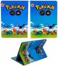 For Apple iPad Mini 1 2 3 4 5 Happy Pokemon Pikachu Pokeball Stand Case Cover