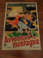 MANIFESTO,1947,AVVENTURA IN MONTAGNA,Hit the Ice,GIANNI PINOTTO,Abbott,Costello
