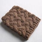 Fashion Women Winter Warm Crochet Knit High Knee Leg Warmers Leggings Boot Socks