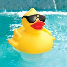 Game 8002 Solar Light Up Duck Pool Chlorinator Tab Dispenser