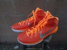 new style 4c810 818a3 Nike Hyperdunk 2014 653483-808 Men s Orange silver white Size 18