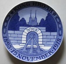 ROYAL COPENHAGEN ODD FELLOW 1893-1918 Commemorative plate made to 25 years