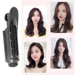 4Pcs Volumizing Hair Root Clip DIY Curler Fluffy Clamps Black For Women