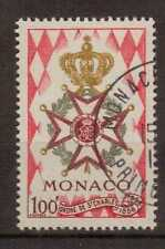 Used Monacan Stamps
