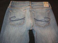 Chip & Pepper Pamela Bootcut Jeans Sz 26 Distressed w Stretch