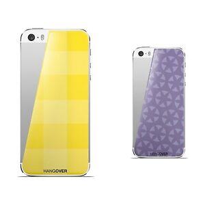 2 skins for IPHONE5 Hangover  design JUICY CANDLE/lavanda + PICNIC/yellow