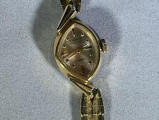 Vintage Gruen Ladies Watch / 17 Jewels with 14kt Gold Bezel