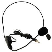 OMNITRONIC HS-215 Headset Kopfbügel Mikrofon für Taschensender 3,5 mm Klinke