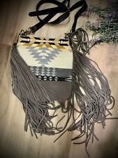 Pendleton Wool and Leather Tote Bag  Purse Crossbody cross body