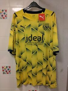 West bromwich albion 21/22 Puma 3rd Shirt Size 3xl New With Tags