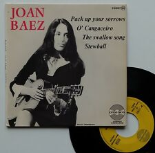 "EP Joan Baez  ""Pack up your sorrows"""
