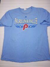 Philadelphia Phillies Retro Logo Blue XL T-Shirt T04