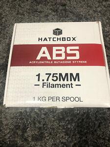 Hatchbox ABS 1.75 Filament Red. New Open Box