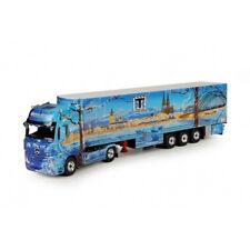 Tek68209 - Camion remorque frigorifique Mercedes-benz Actros Gigaspace aux coule