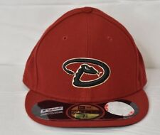 New Era 59Fifty Mens MLB Cleveland Indians Fitted Hat Cap new Size 7 1/2