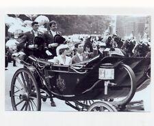 mm100 - Princess Diana & Charles leave for honeymoon - Royalty photo 6x4