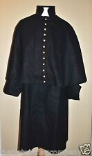 Officer's Double Breasted Great Coat - Dark Blue - Sizes 52-60 - Civil War