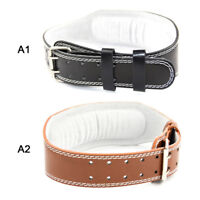Weight Exercise Belt Fitness Power Weight Lifting Body Building Equipment Gym