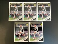 2018-19 Panini Donruss Soccer Cristiano Ronaldo JUVENTUS Base Card #9 ~ Lot of 5