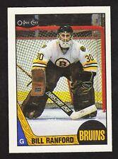 1987-88 O-Pee-Chee #13 Bill Ranford RC Rookie Card -