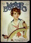 Z+P+Nikolaki+Illustrated+Cover+Only+Motor+Boating+Magazine+May+1914+Sexy+Girl+