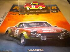 DeAgostini RALLY AUTO COLLECTION questione 53 1974 FIAT 124 ABARTH Raffaele Pinto AR