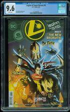 Legion of Super-Heroes #6 DC Comics 1st appearance of Gold Lantern CGC 9.6