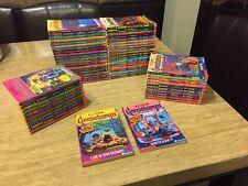 1-62 COMPLETE SET GOOSEBUMPS ORIGINAL SERIES BOOKS!! GOOD/VERY GOOD CONDITION