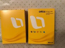Microsoft Office 2008 for Mac Home and Student Edition for Mac
