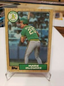 1987 Topps Mark McGwire RC