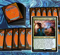 mtg GREEN BLUE RASHMI COMMANDER EDH DECK Magic the Gathering rare cards tishana
