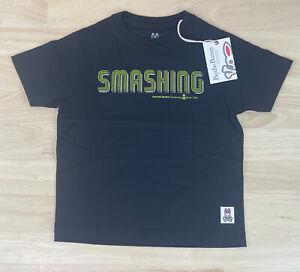 Psycho Bunny Smashing Boys Crew Neck Black S/S Tee Shirt, Size XL/18-20, NWT $40
