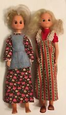 Sunshine Family dolls Steffi (Mom) & Grandma vintage 1973