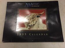 Magico The Gathering 1996 Calendario Contrassegno con Luce Grattare su Anteriore