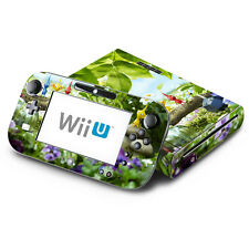 Skin Decal Cover for Nintendo Wii U Console & GamePad - Pikmin