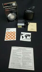 VINTAGE Vivitar Electronic Flash Model 252 Automatic Exposure Control Orig. Pkg.