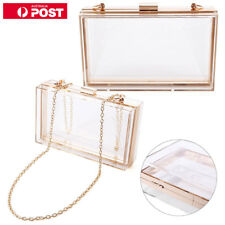 3c4c4cab5963c Acrylic Clear Transparent Evening Clutches Shoulder Bag Handbag for Women  Ladies