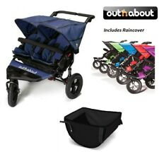 Out n About Double Nipper 360 V4/Basket/Raincover- Royal Navy