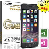 For iPhone 6s / 6 Plus Real Tempered Glass Screen Protector HD Premium