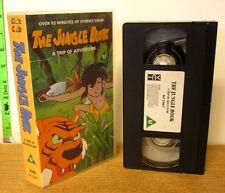 JUNGLE BOOK Shonen Mowgli VHS anime Trip of Adventure 1989 TV Series import