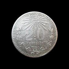 MEXICO 20 CENTAVOS 1930 SILVER KM 438 #3325#
