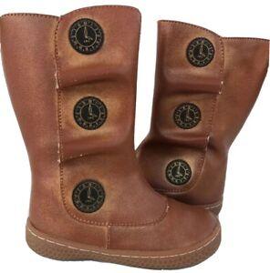 EUC Livie & Luca Shoes Boots Tiempo Honey Gold 6