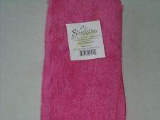 SHAGGIE-Janey Lynn's 100% Cotton Chenille Dishcloth, washcloth cleaning PINK