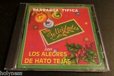 LOS ALEGRES DE HATO TEJAS / PARRANDA TIPICA / CD / RARE ORIGINAL 1ST PRESSING