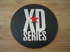 """KMC XD Series Monster 778 Matte Flat Black Logo Sticker Only 3 1/16"""" Diameter"""