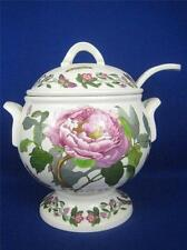 PORTMEIRION Botanic Garden Peony and Passion Flowers Footed Soup Tureen & Ladle