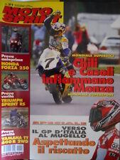 Motosprint 21 2000 Mondiale superbike: Chili e Casoli infiammano Monza- Honda250