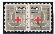 THAILAND 1977 Red Cross (Pair) FU